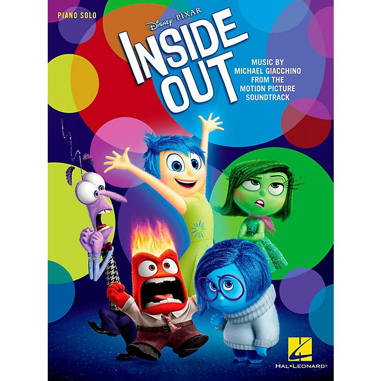 Hal Leonard Inside Out - Music from the Motion Picture Soundtrack Piano Solo Songbook