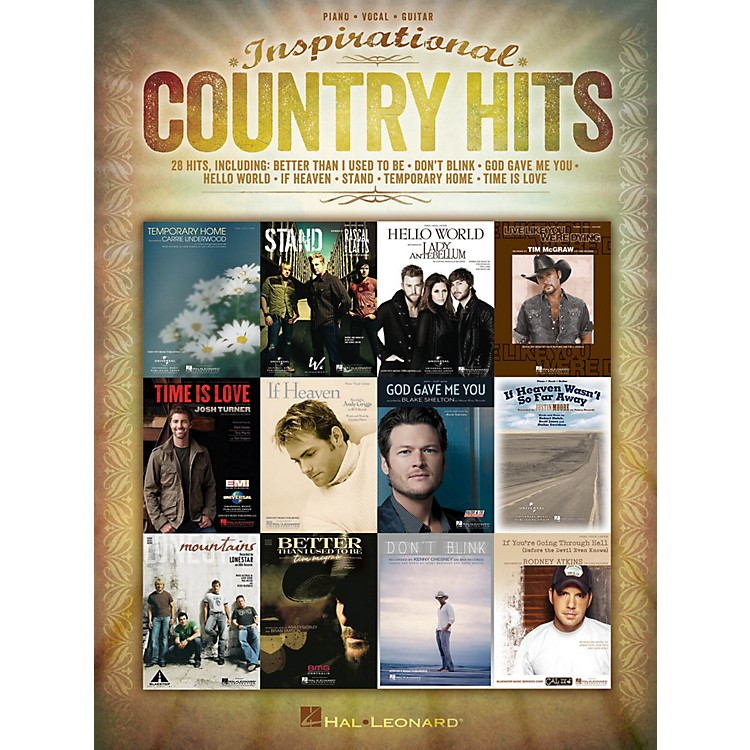 Hal LeonardInspirational Country Hits for Piano/Vocal/Guitar