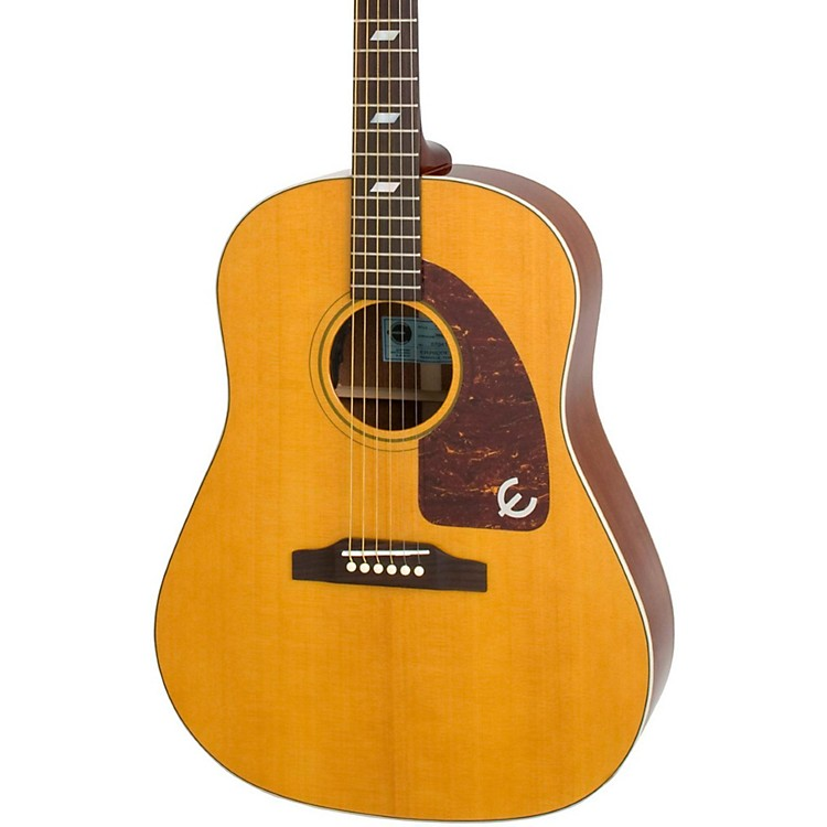 Epiphone Inspired by 1964 Texan Acoustic-Electric Guitar Antique Natural
