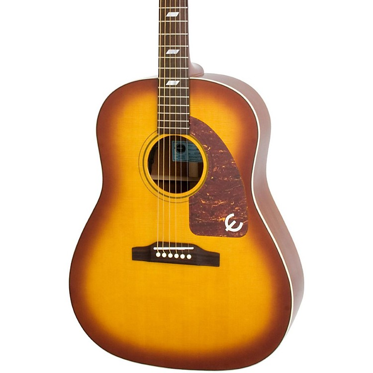 Epiphone Inspired by 1964 Texan Acoustic-Electric Guitar Vintage Cherryburst