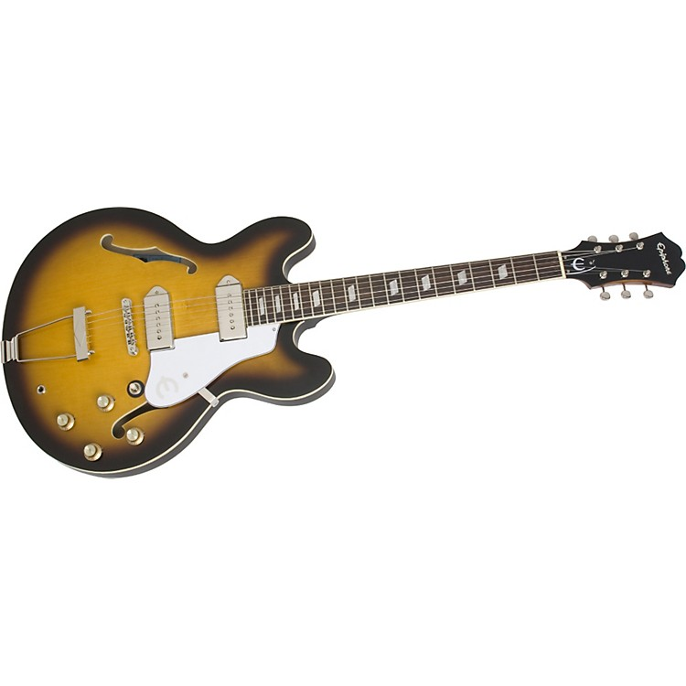 Epiphone Inspired by John Lennon Casino Hollowbody Electric Guitar Vintage Sunburst
