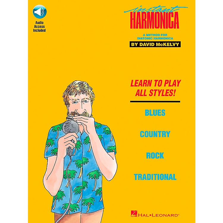 Hal LeonardInstant Harmonica Book/CD