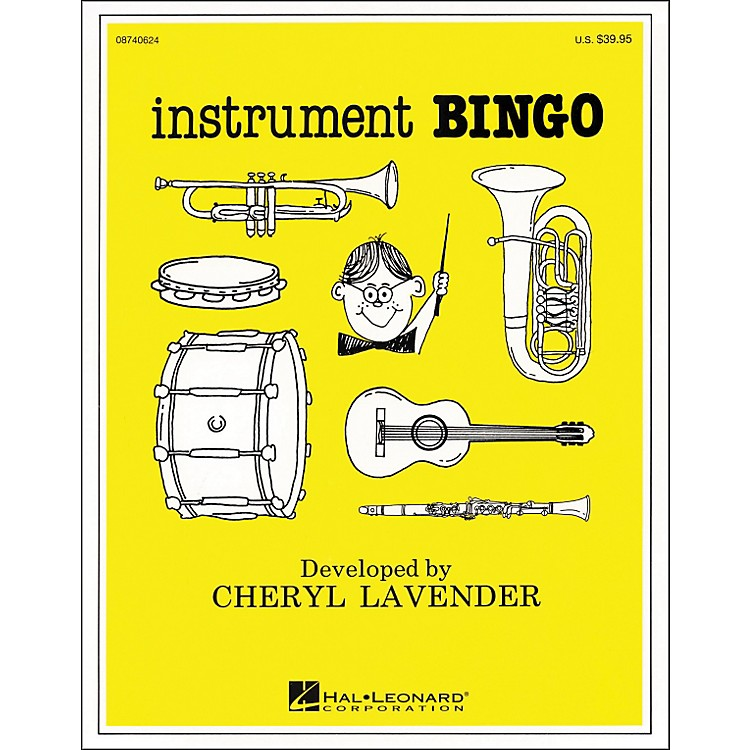 Hal LeonardInstrument Bingo