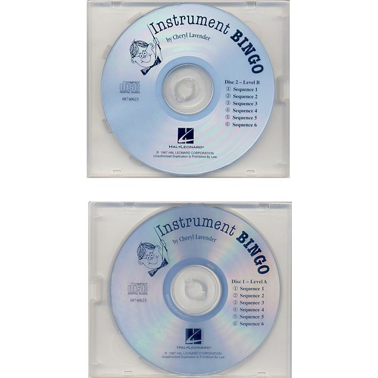 Hal LeonardInstrument BingoReplacement Cd Set Of 2