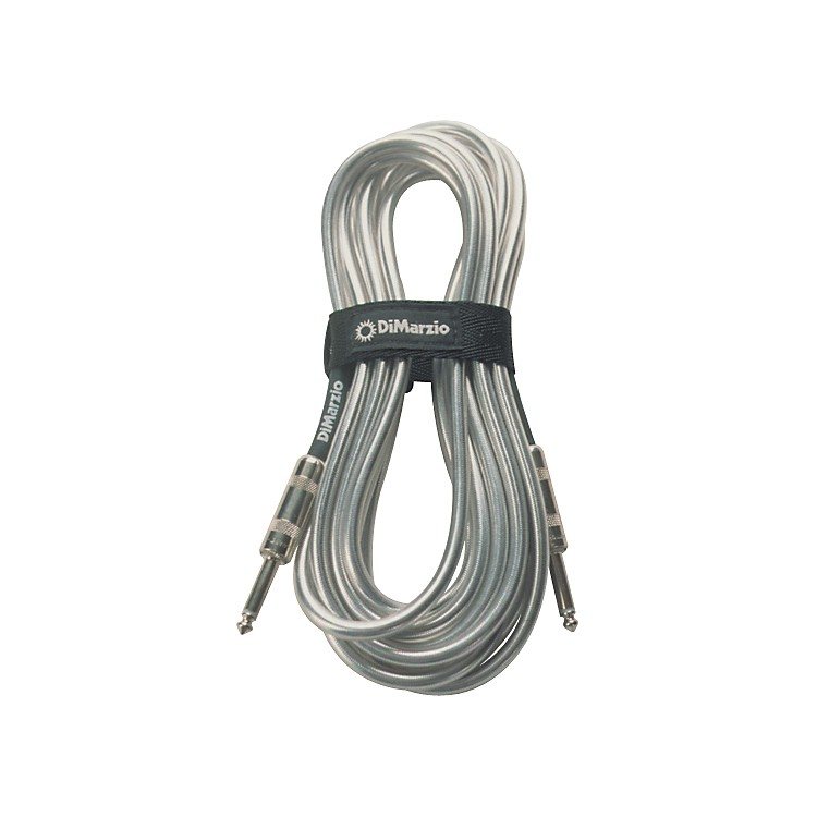 DiMarzio Instrument Cable Metallic Chrome 18 ft.