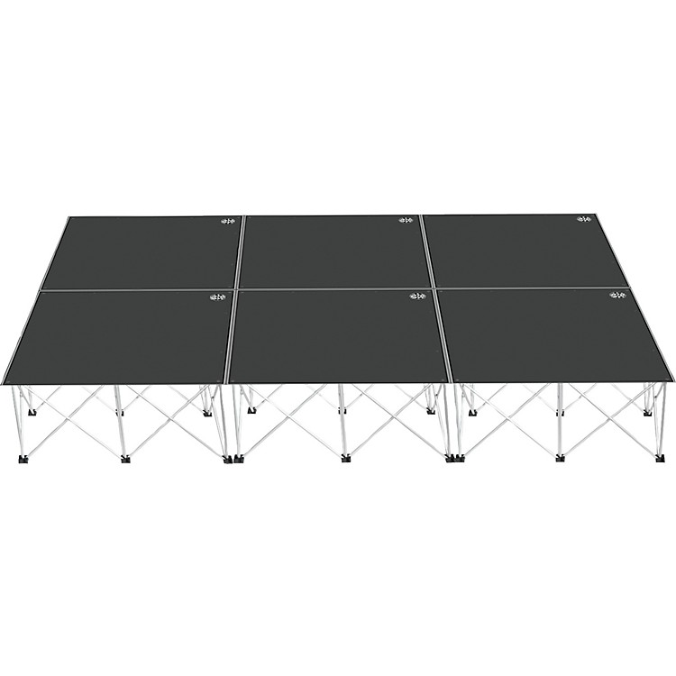 Road ReadyIntellistage Portable Stage System Package16 in.