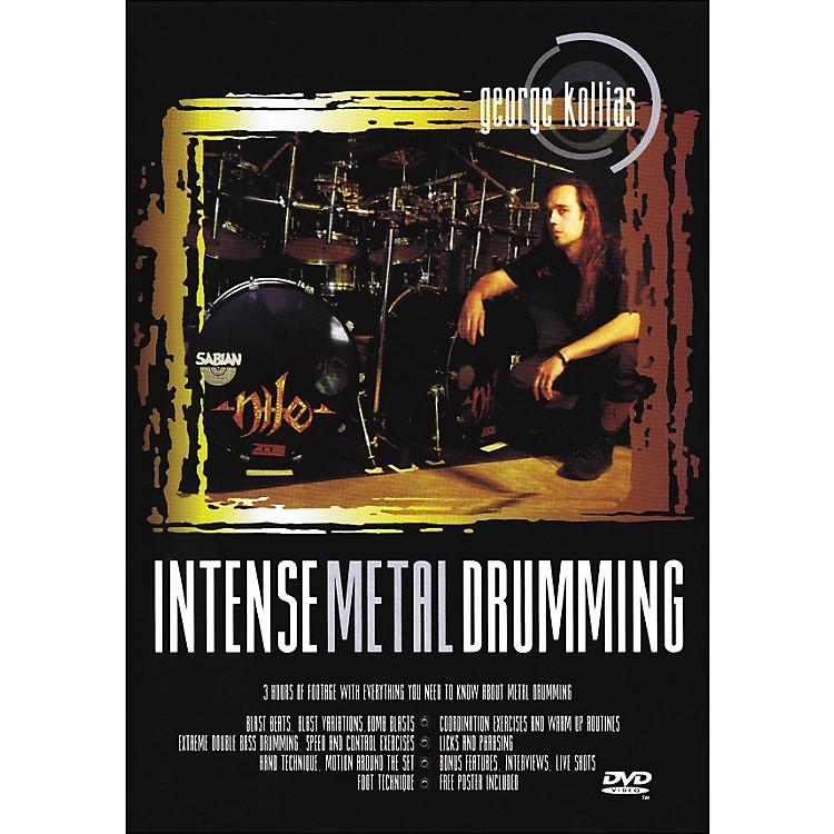 Music SalesIntense Metal Drumming - George Kollias Instructional Drum DVD