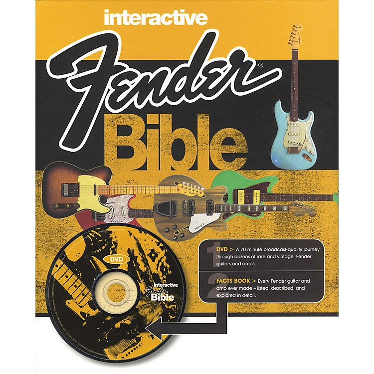 Hal Leonard Interactive Fender Bible (Book/DVD)