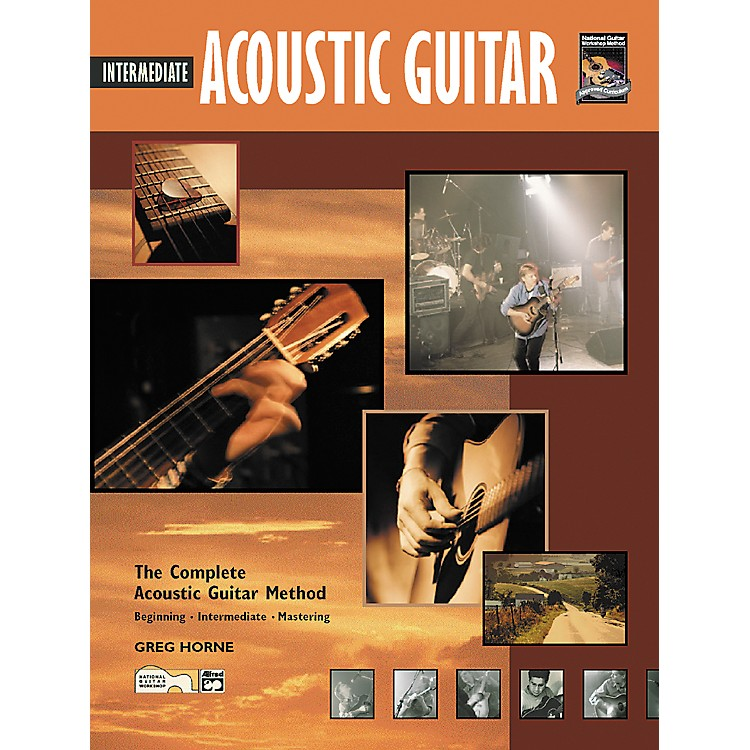 Alfred Intermediate Acoustic Guitar (Book/CD)