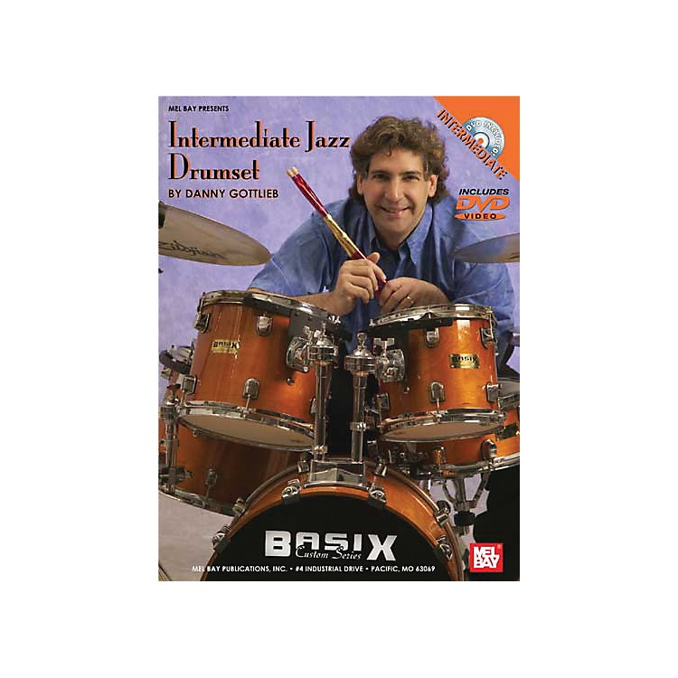 Mel Bay Intermediate Jazz Drumset DVD and Chart