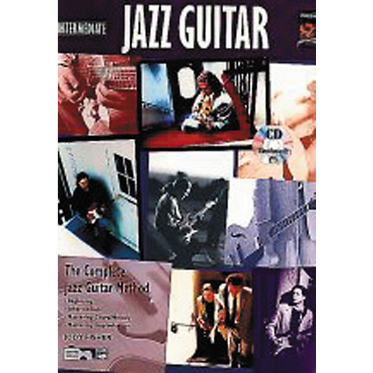 Alfred Intermediate Jazz Guitar (Book/CD)