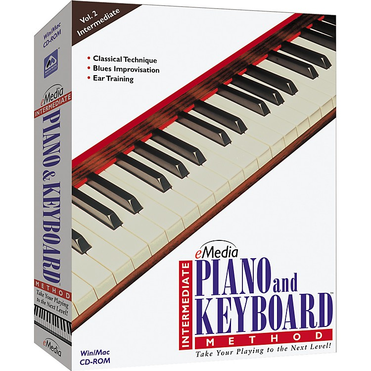 eMedia Intermediate Piano and Keyboard Method CD-ROM