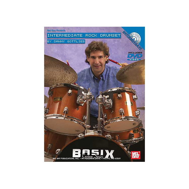 Mel Bay Intermediate Rock Drumset DVD and Chart