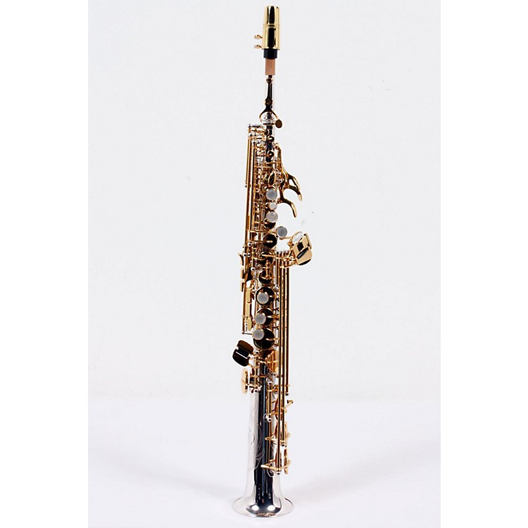 Jupiter Intermediate Soprano Saxophone Sterling Silver Straight and Curved Necks 886830878800