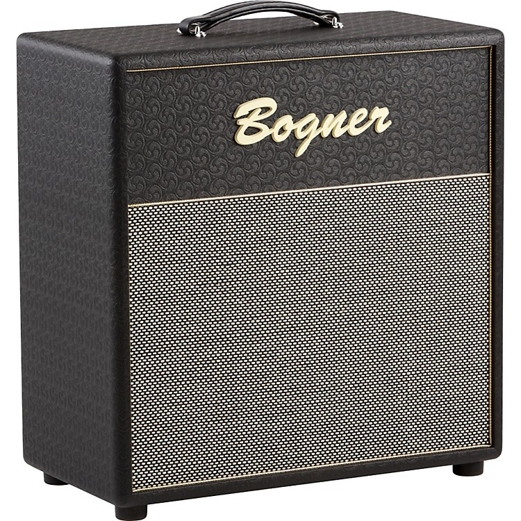 Bogner International Series 112O 1x12 Guitar Speaker Cabinet Comet Black