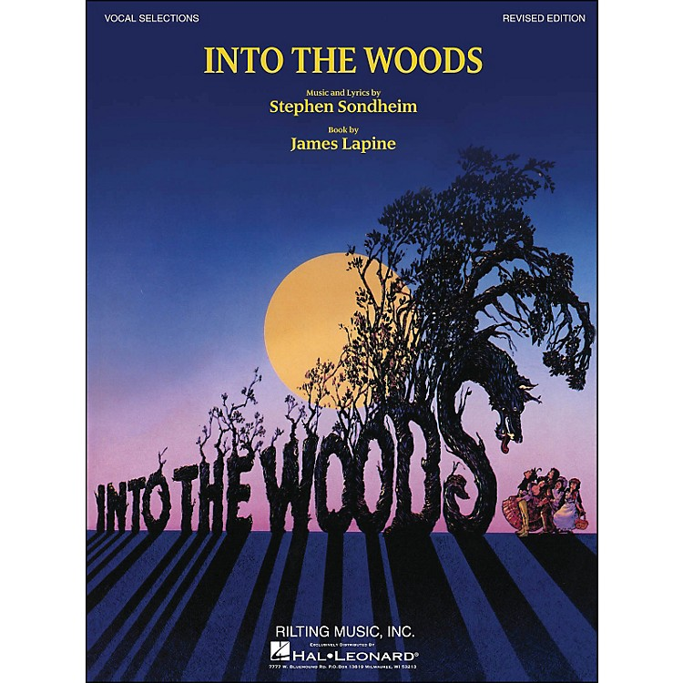Hal LeonardInto The Woods Vocal Selections (Revised Edition) arranged for piano, vocal, and guitar (P/V/G)