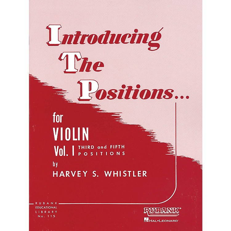Hal LeonardIntroducing The Positions Violin Vol. 1 by Whistler