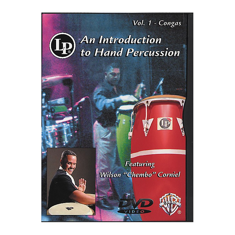 LPIntroduction To Hand Percussion Vol. 1 - Congas DVD