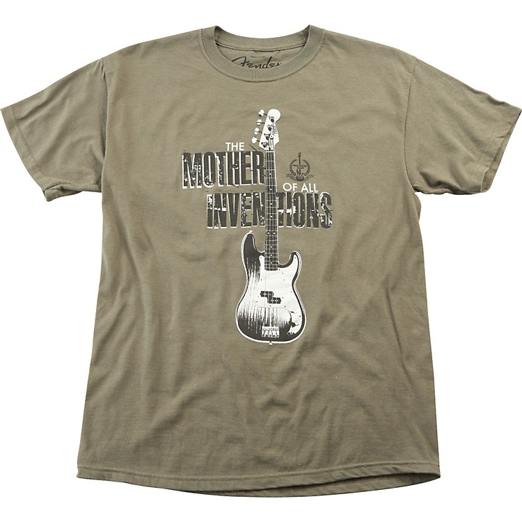 Fender Inventions T-Shirt Green Small