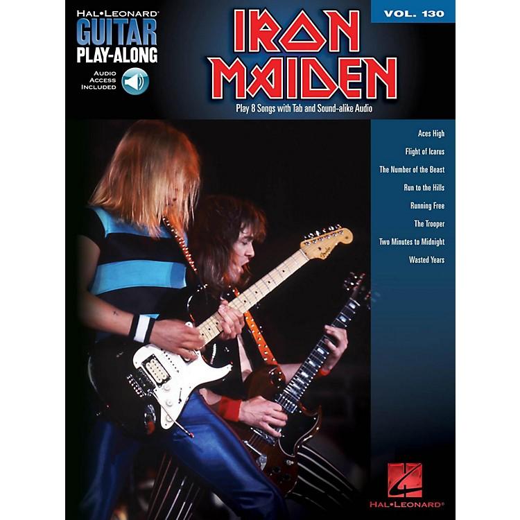 Hal LeonardIron Maiden - Guitar Play-Along Volume 130 (Book/Online Audio)