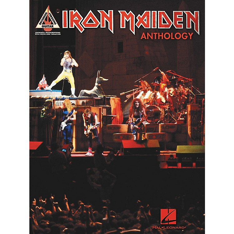 Hal Leonard Iron Maiden Anthology (Tab Songbook)