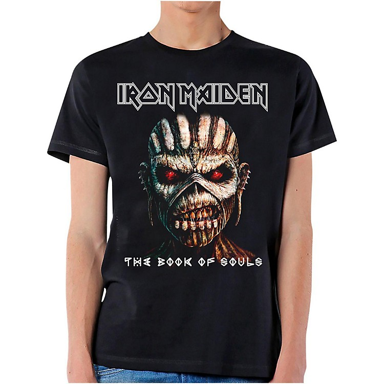 Iron Maiden Iron Maiden Book of Souls T-Shirt Large Black