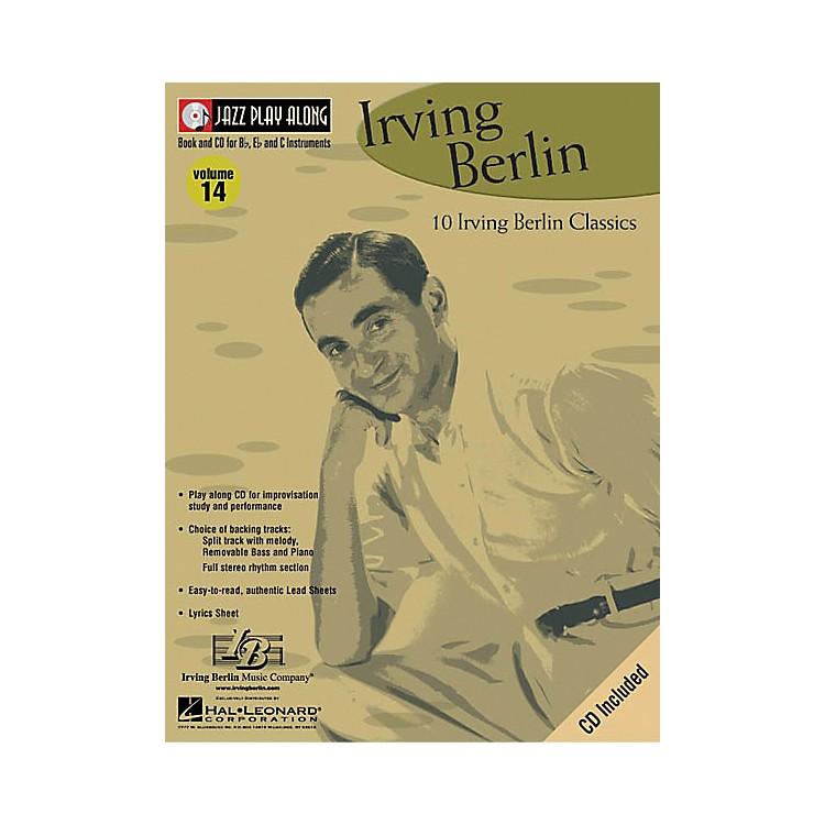 Hal LeonardIrving Berlin - Jazz Play Along Volume 14 Book with CD