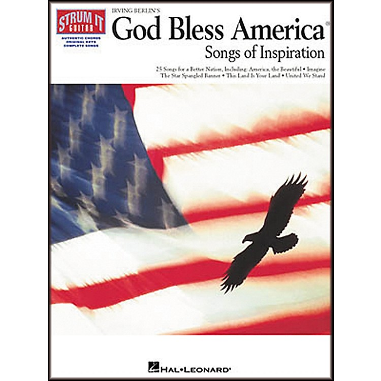 Hal Leonard Irving Berlin's God Bless America Strum It Guitar Chord Songbook