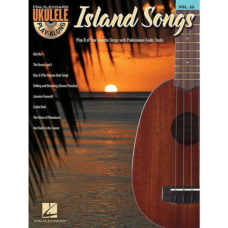 Hal LeonardIsland Songs  Ukulele Play Along Volume 22 Book / CD