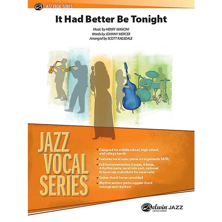AlfredIt Had Better Be Tonight Jazz Band Grade 3.5 Set