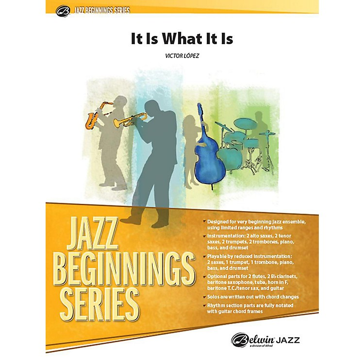 AlfredIt Is What It Is Jazz Band Grade 1 Set