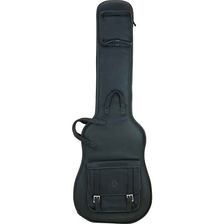 Levy's Italian Leather Bass Guitar Gig Bag Black