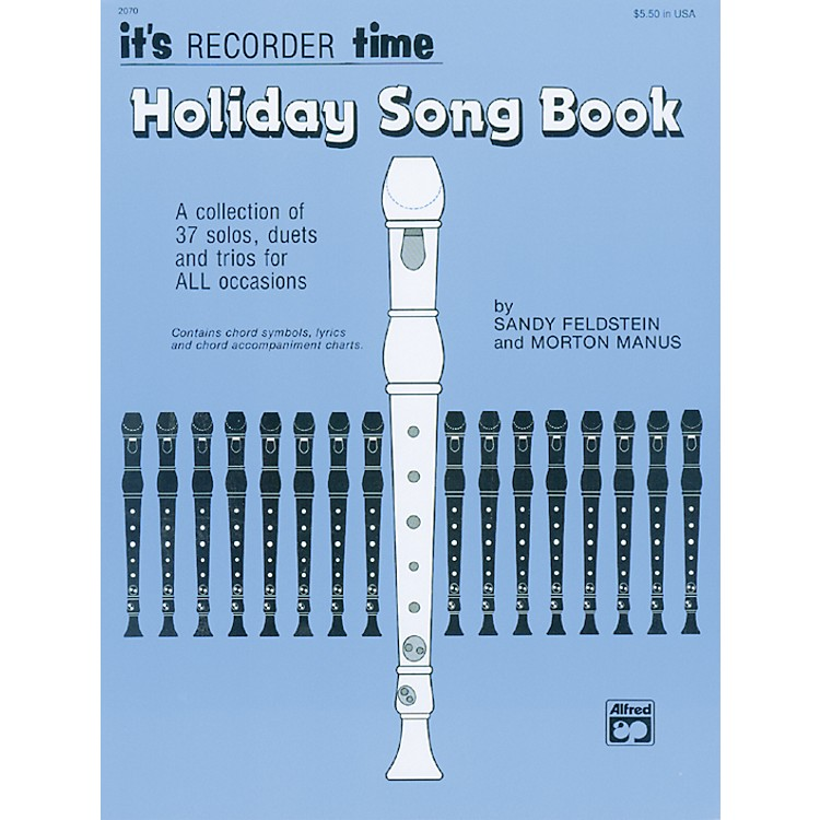AlfredIts Recorder Time: Holiday Songbook