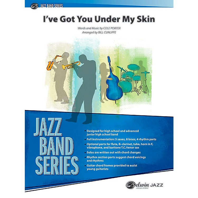 BELWIN I've Got You Under My Skin Jazz Ensemble Grade 3 (Medium)