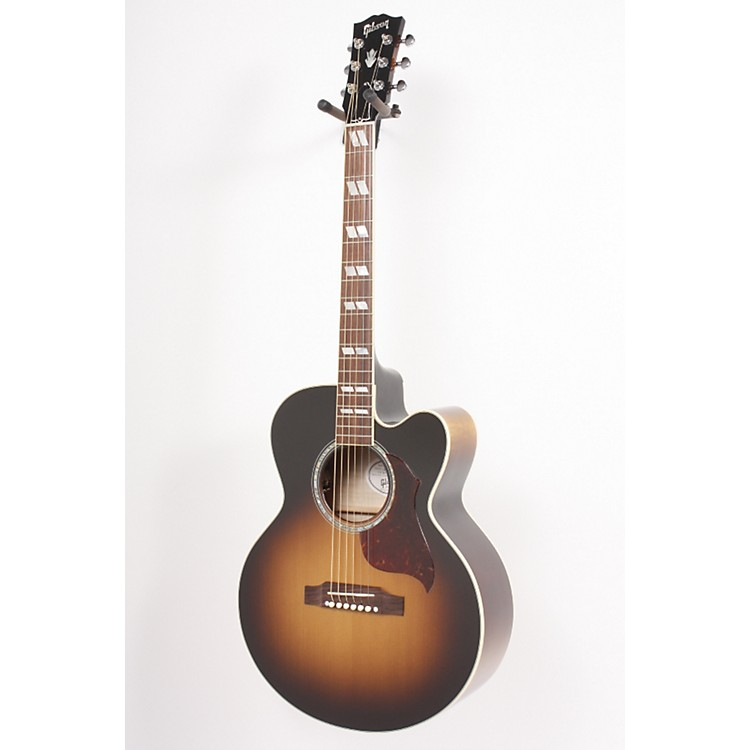 Gibson J-165 EC Maple Acoustic-Electric Guitar Vintage Sunburst 886830583568