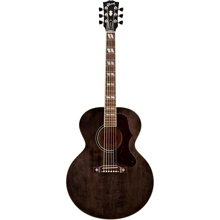 GibsonJ-185 Acoustic GuitarTransparent Black