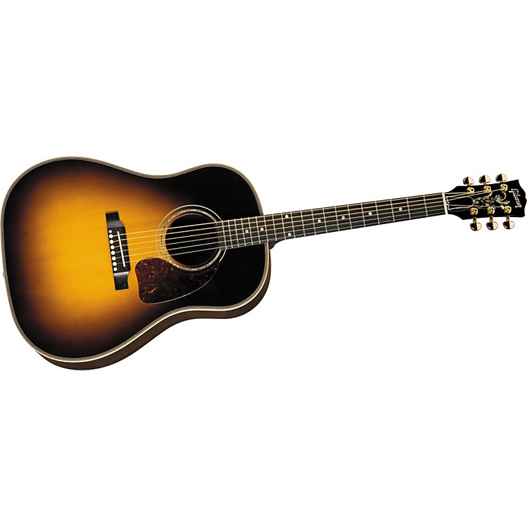 Gibson J-45 Custom Acoustic-Electric Guitar Vintage Sunburst
