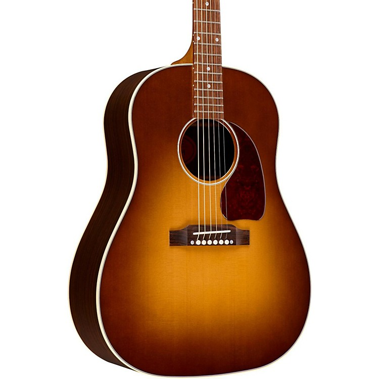 GibsonJ-45 Mystic Rosewood Tonewood Edition Acoustic-Electric GuitarHoney Burst