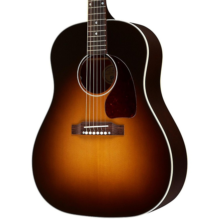 Gibson J-45 Standard Acoustic-Electric Guitar Vintage Sunburst