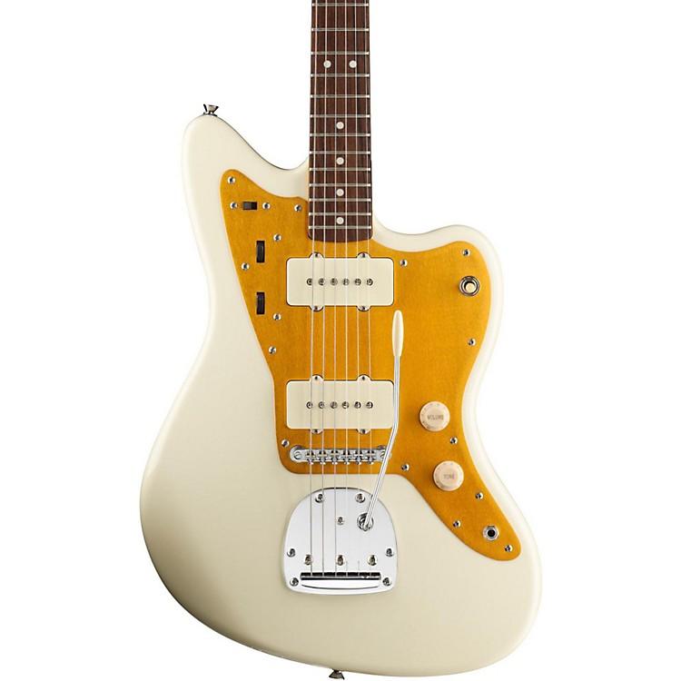 SquierJ Mascis Jazzmaster Electric GuitarVintage White