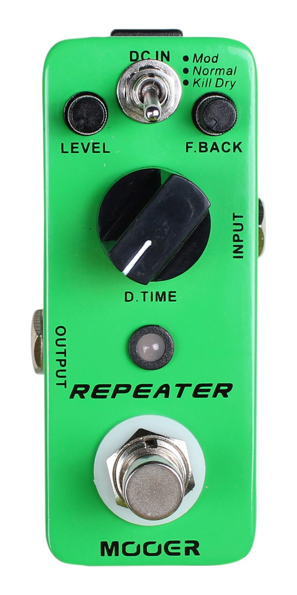 mooer repeater digital delay guitar effects pedal ebay. Black Bedroom Furniture Sets. Home Design Ideas