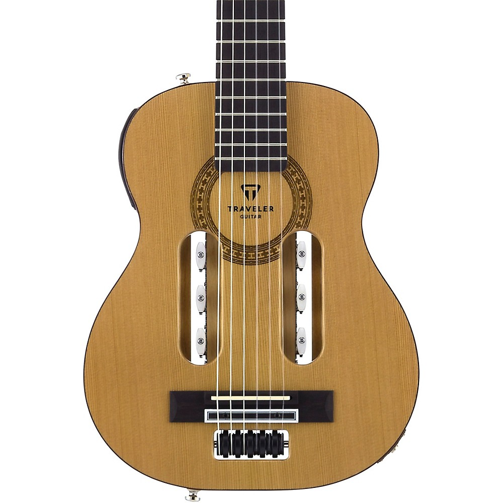 traveler guitar escape classical nylon string acoustic electric guitar naturl ln. Black Bedroom Furniture Sets. Home Design Ideas