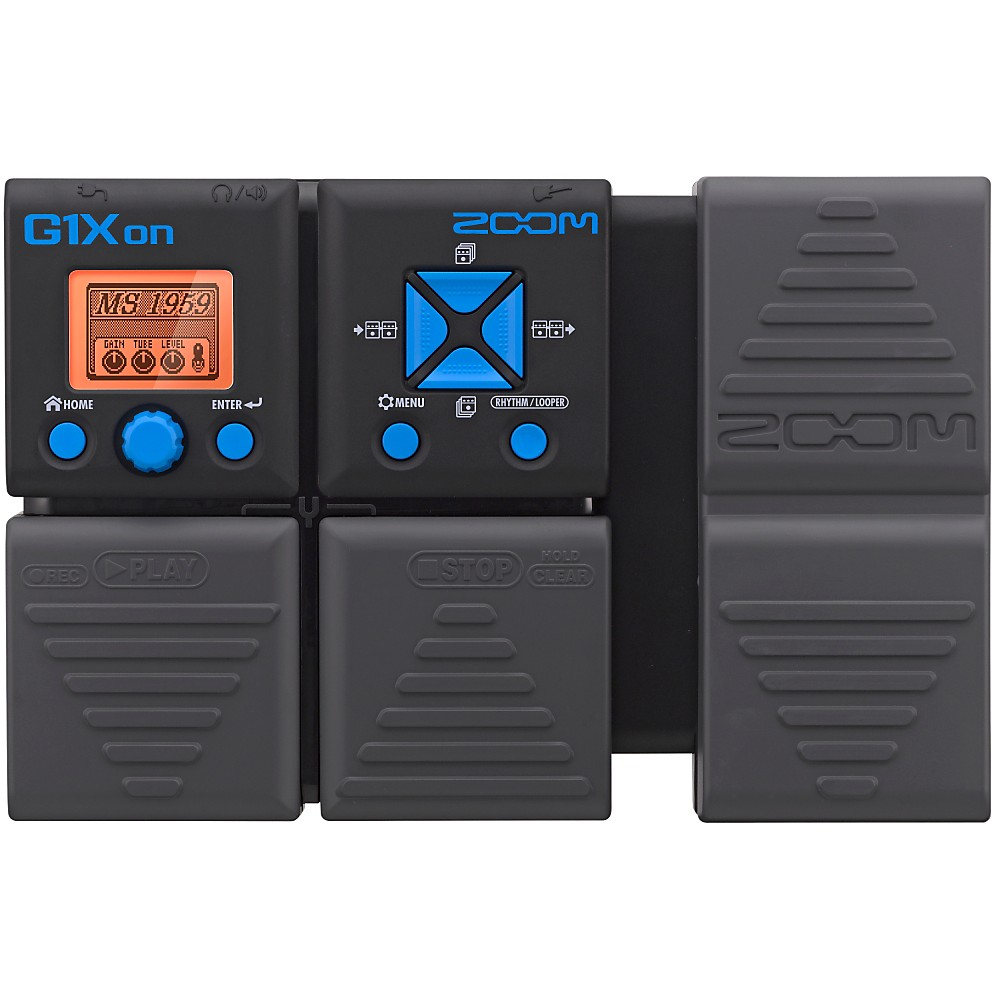 zoom g1xon guitar multi effects pedal. Black Bedroom Furniture Sets. Home Design Ideas