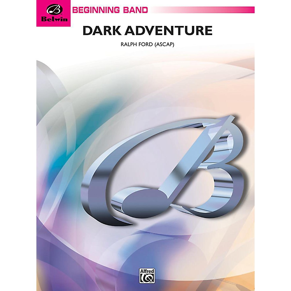 Alfred Dark Adventure Concert Band Grade 1 Set