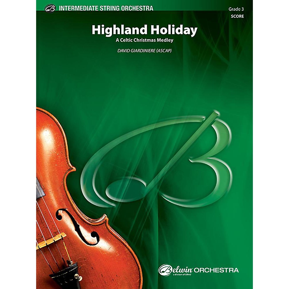 Alfred Highland Holiday String Orchestra Grade 3 Set
