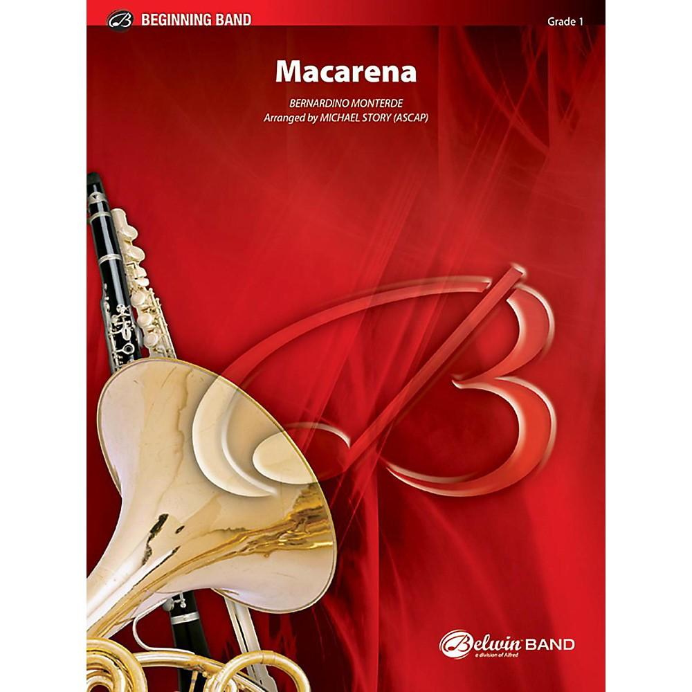 Alfred Macarena Concert Band Grade 1 Set