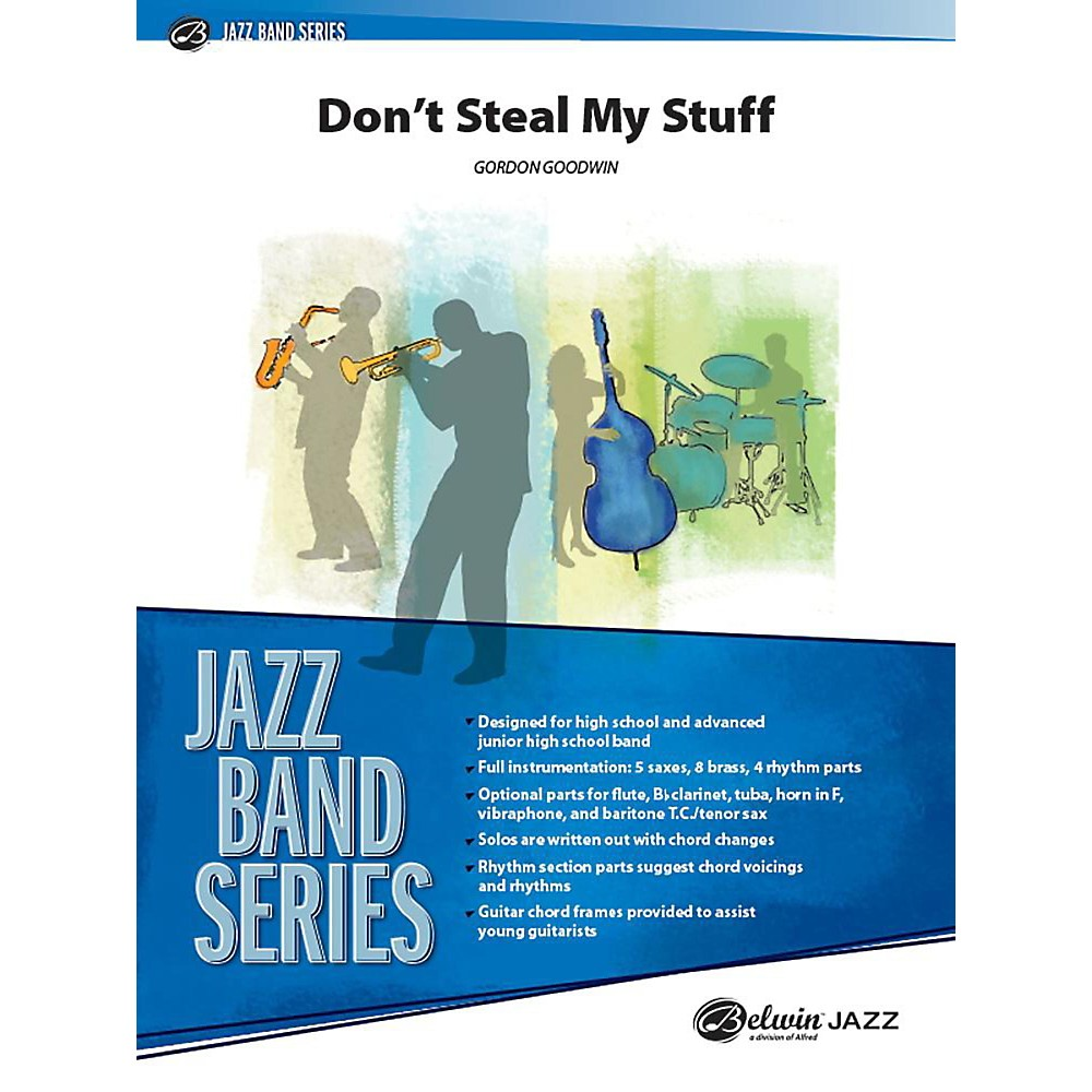 Alfred Don`t Steal My Stuff Jazz Band Grade 3 Set