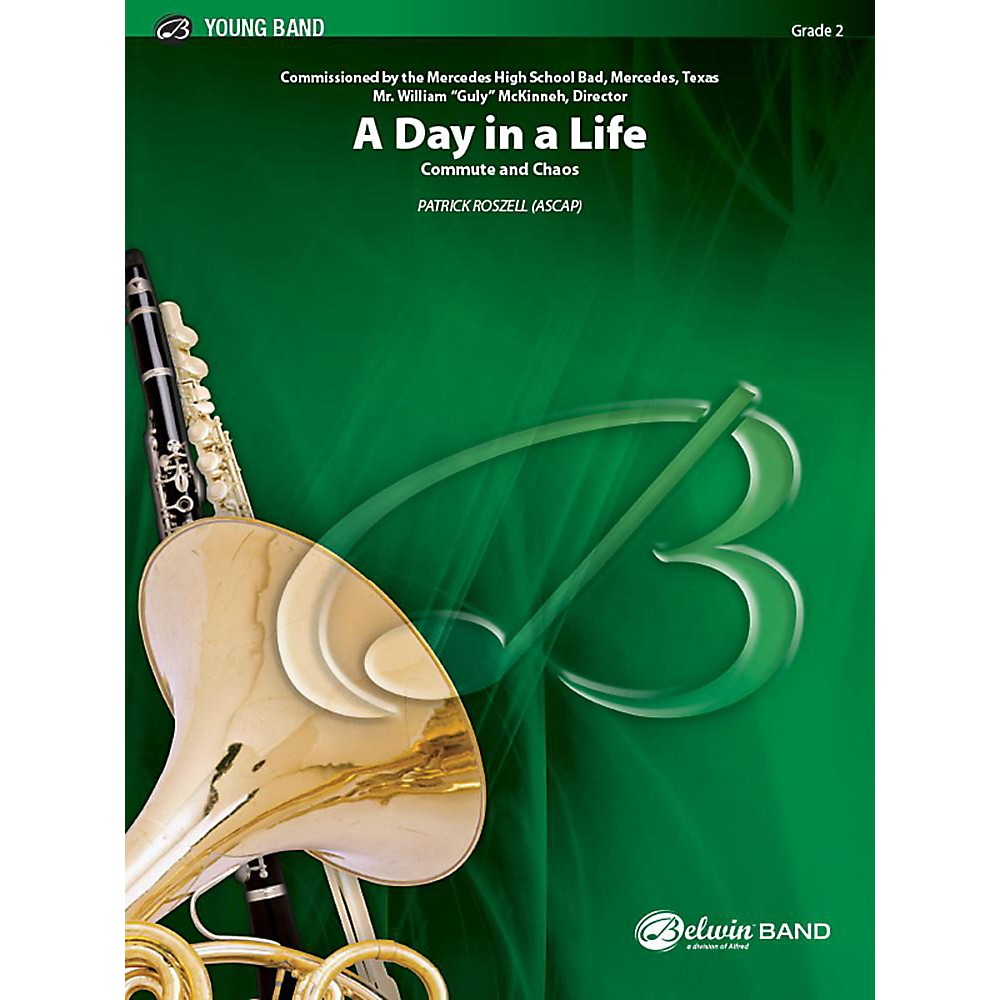 Alfred A Day in a Life Concert Band Grade 2 Set