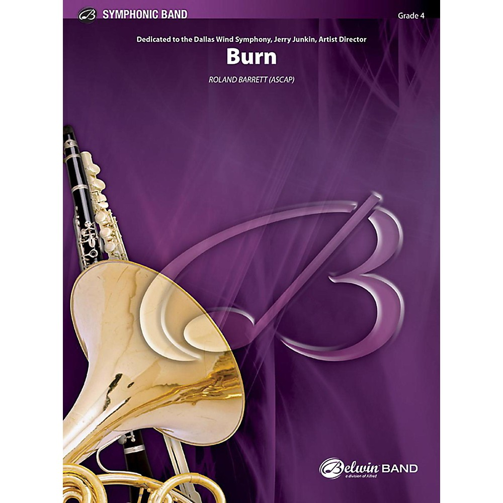 Alfred Burn Concert Band Grade 4 Set