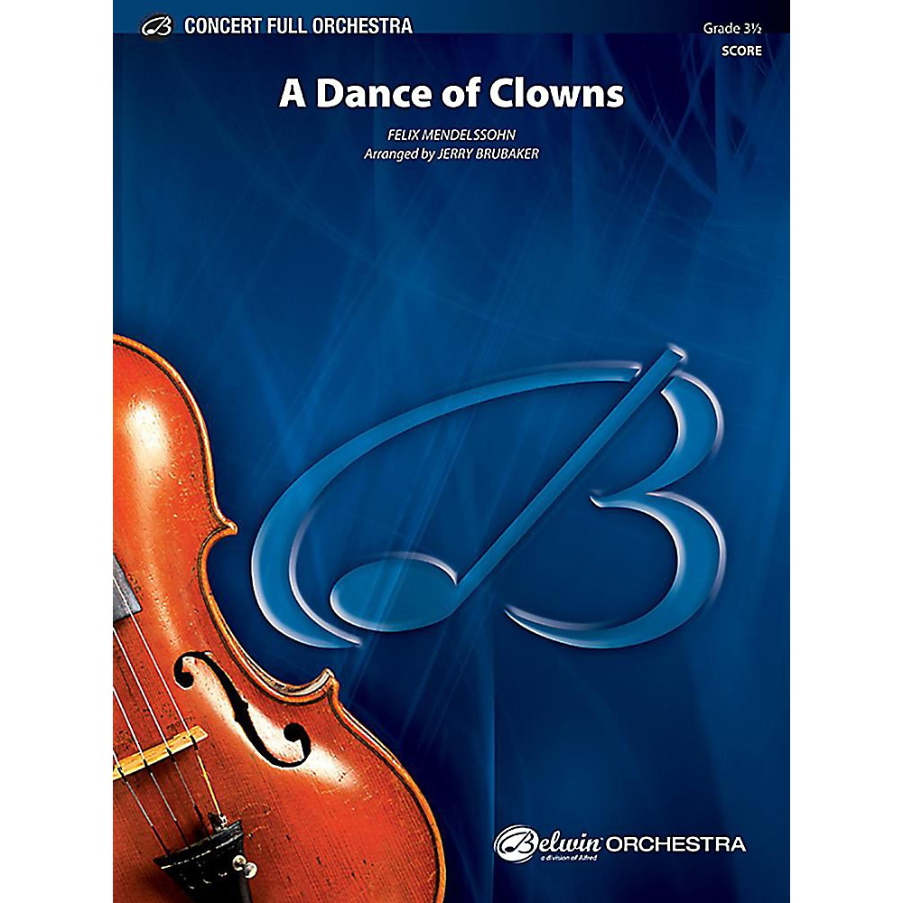 Alfred A Dance of Clowns from A Midsummer Night`s Dream Full Orchestra Grade 3.5 Set